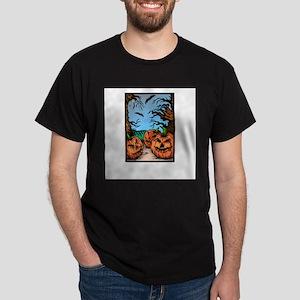 Pumpkin Patch Black T-Shirt