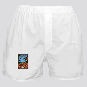 Pumpkin Patch Boxer Shorts