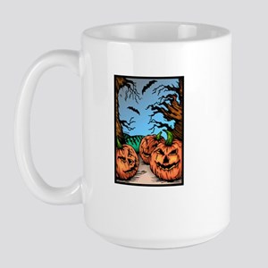 Pumpkin Patch Large Mug