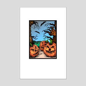 Pumpkin Patch Mini Poster Print