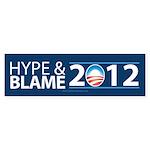 Hype & Blame 2012 Sticker (Bumper 50 pk)