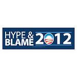 Hype & Blame 2012 Sticker (Bumper 10 pk)