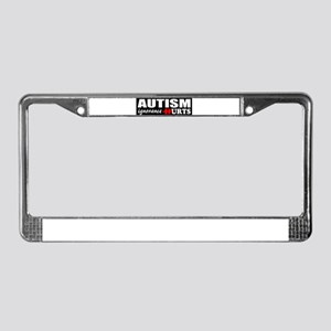 Autism support License Plate Frame