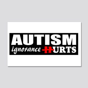 Autism support 20x12 Wall Decal