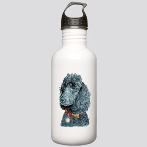 Black Poodle Whitney Stainless Water Bottle 1.0L