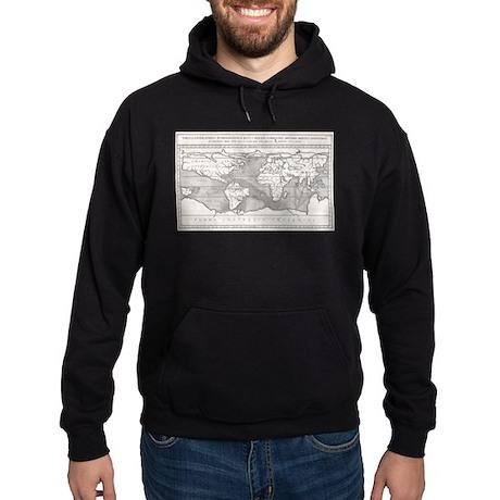 Vintage Map of The World (1665) Sweatshirt