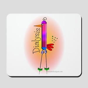 Dialysis Bird PINK Mousepad