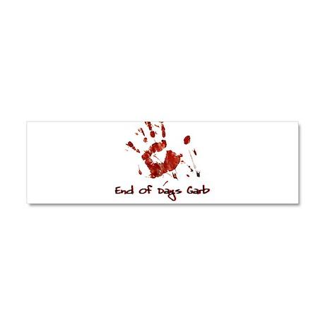 EODG Handprint Logo Car Magnet 10 x 3