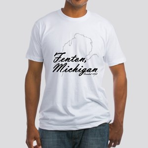 Fenton, Michigan Fitted T-Shirt