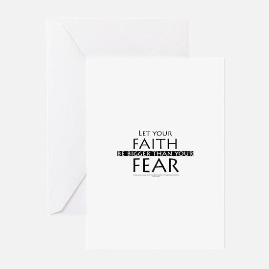 Faith and Fear Greeting Cards (Pk of 10)