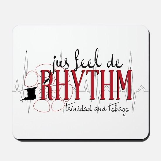 jus feel de RHYTHM Mousepad