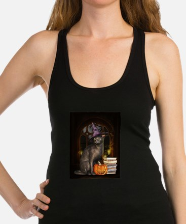 Witch Kitty Cat Tank Top