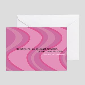 Ex-boyfriends Greeting Cards (Pk of 10)
