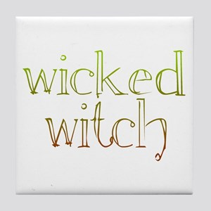 wicked witch Tile Coaster