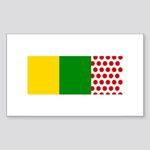 Le Tour Rectangle Sticker