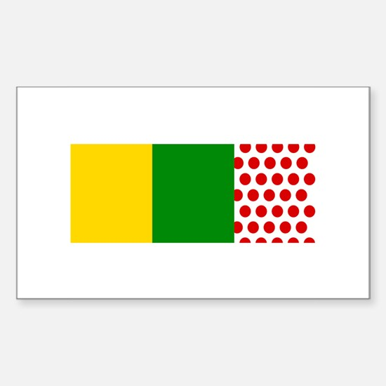 Le Tour Rectangle Decal