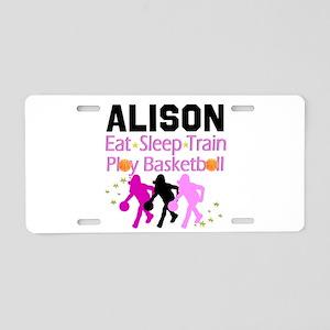 BEST BASKETBALL Aluminum License Plate