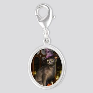 Witch Kitty Cat Charms