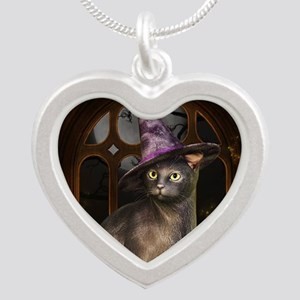 Witch Kitty Cat Necklaces