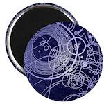 Crop circles Fob watch engraving Magnet