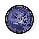 Crop circles Fob watch engraving Wall Clock