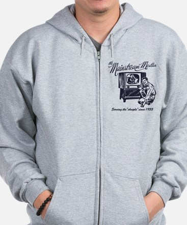 The Mainstream Media Zip Hoodie