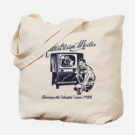 The Mainstream Media Tote Bag