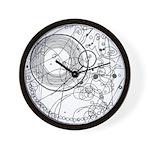 circles fob watch Wall Clock