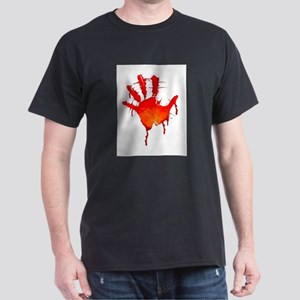 hand_white_bg Dark T-Shirt