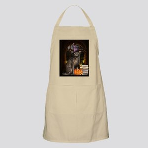 Witch Kitty Cat Light Apron