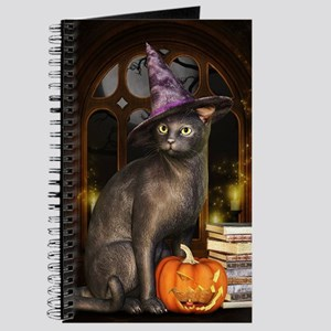 Witch Kitty Cat Journal