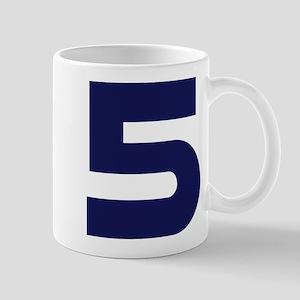 Number Five 5 Mug
