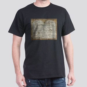 Ten Commandments Dark T-Shirt