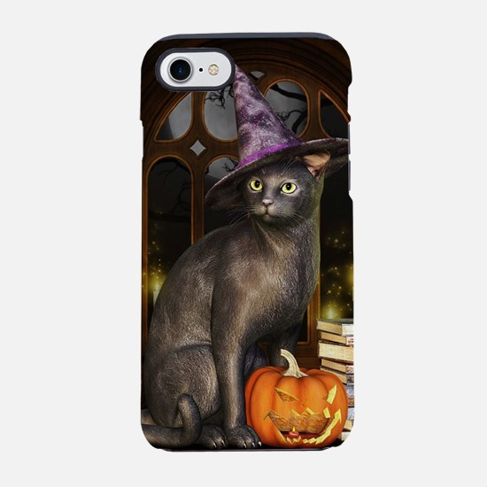 Witch Kitty Cat iPhone 7 Tough Case