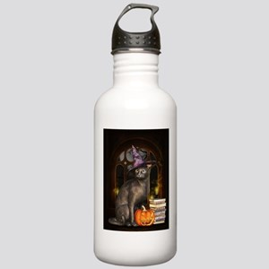 Witch Kitty Cat Stainless Water Bottle 1.0L