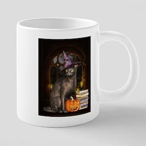 Witch Kitty Cat Mugs