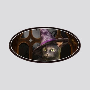 Witch Kitty Cat Patch
