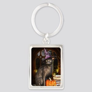 Witch Kitty Cat Keychains
