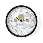 steampunk fob watch Wall Clock
