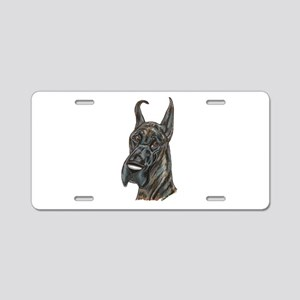 darkbrindle Aluminum License Plate