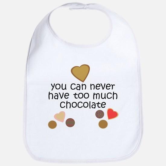Chocolate2 Baby Bib