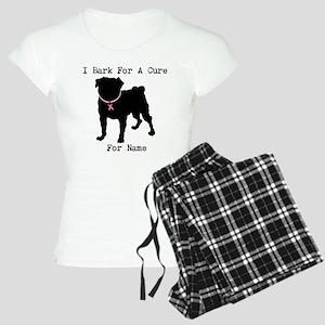 Pug Personalizable Bark For A Women's Light Pajama