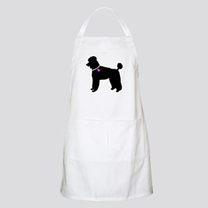 Poodle Breast Cancer Support Apron