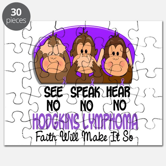 See Speak Hear No H Lymphoma 1 Puzzle