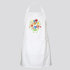 Floral bright pattern Apron