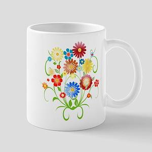 Floral bright pattern Mug
