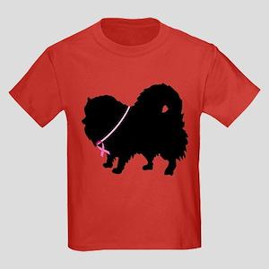 Christmas or Holiday Pomerani Kids Dark T-Shirt