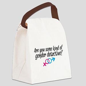 'Gender Detective' Canvas Lunch Bag