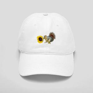 Squirrel Sunflower Cap
