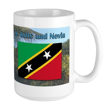Saint Kitts and Nevis Large Mug